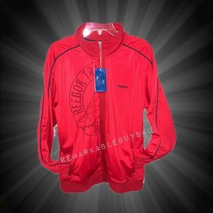 Reebok Men's Large Red Athletic Jacket